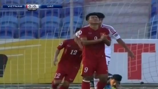 U19 Viet Nam hoa 1-1 truoc U19 UAE trong the tran mat nguoi hinh anh 12