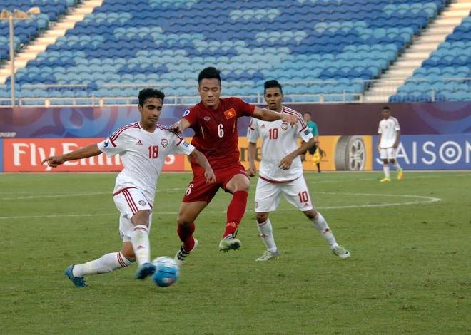 U19 Viet Nam hoa 1-1 truoc U19 UAE trong the tran mat nguoi hinh anh 16