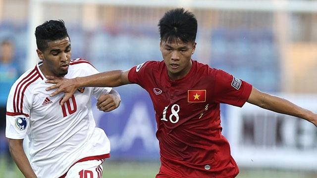 U19 Viet Nam hoa 1-1 truoc U19 UAE trong the tran mat nguoi hinh anh