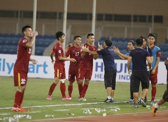 U19 Viet Nam hoa 1-1 truoc U19 UAE trong the tran mat nguoi hinh anh 7