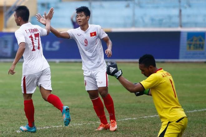 U19 Viet Nam hoa 1-1 truoc U19 UAE trong the tran mat nguoi hinh anh 8