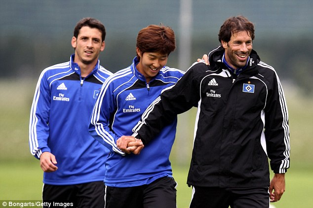 Son Heung-min mang on Nistelrooy anh 1