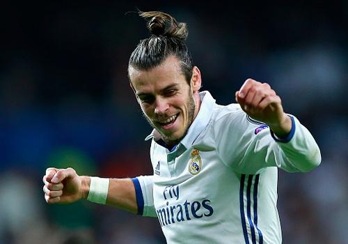 Mat gan 2 nam, Bale moi ghi ban cho Real o cup chau Au hinh anh