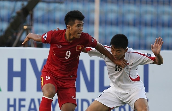 U19 Viet Nam lap ky tich vao tu ket U19 chau A hinh anh 13