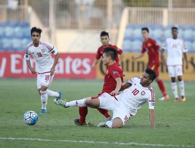 Tran U19 Viet Nam vs U19 Iraq anh 2