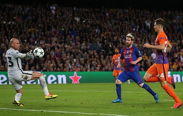 Messi lap 2 ky luc o Champions League anh 1