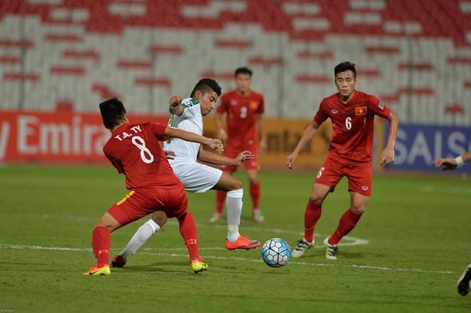 U19 Viet Nam lap ky tich vao tu ket U19 chau A hinh anh 18