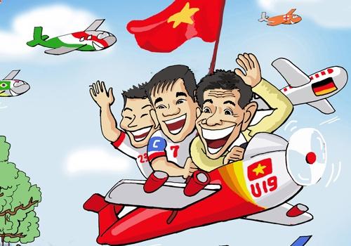 Biem hoa Thai Lan vung vay ao lang, VN vay chao di World Cup hinh anh