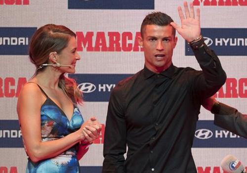 Ronaldo gianh danh hieu cau thu hay nhat La Liga hinh anh