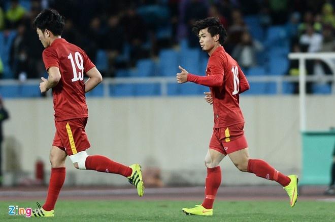 Tran DTVN vs Avispa Fukuoka anh 1