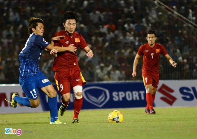 Tran DTVN vs Avispa Fukuoka anh 17
