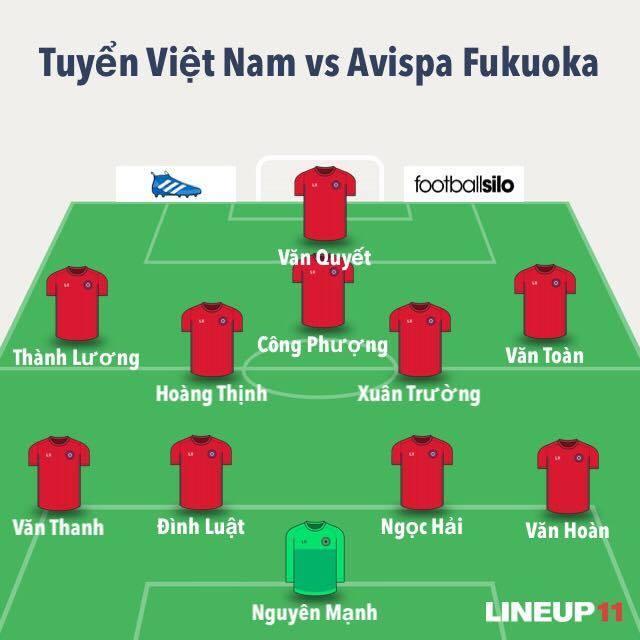 Tran DTVN vs Avispa Fukuoka anh 8