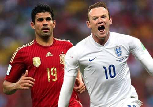 Rooney mat cho trong doi hinh ket hop Anh - Tay Ban Nha hinh anh