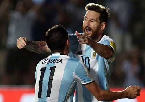 Messi duoc ca ngoi khi giup Argentina tro lai top 5 hinh anh