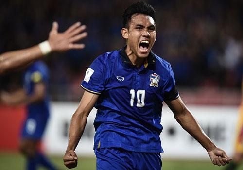 Tuyen Thai Lan thang Indonesia 4-2 nho hat-trick cua Dangda hinh anh 16