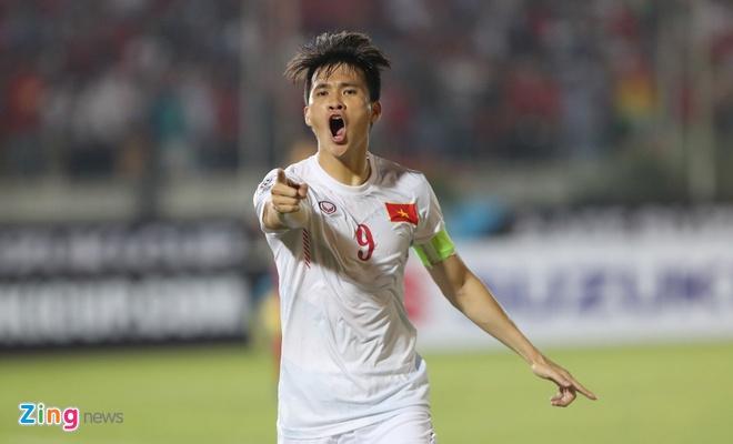 Tuyen Viet Nam thang may man Myanmar anh 1