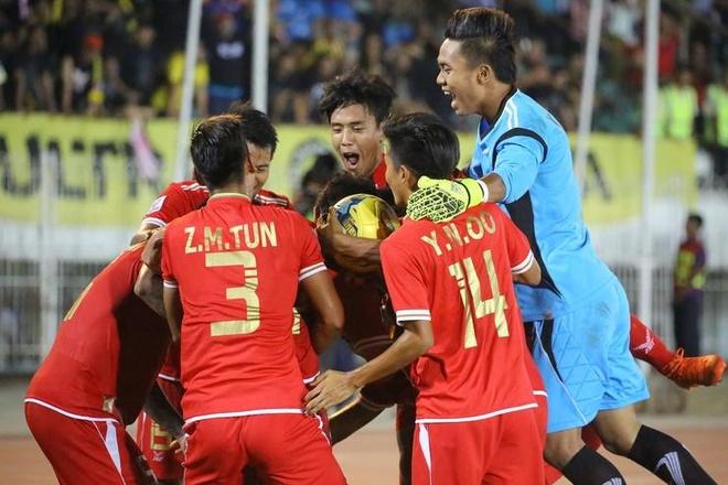 Myanmar tu tin danh bai Thai Lan anh 1