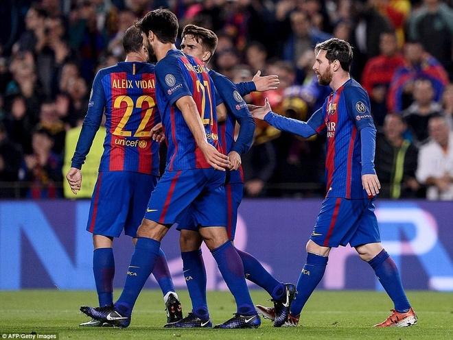 Osasuna 0-3 Barca: Messi lap cu dup ban thang hinh anh 2