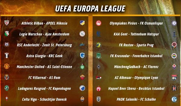 Pogba doi dau anh trai o vong 1/16 Europa League hinh anh 1