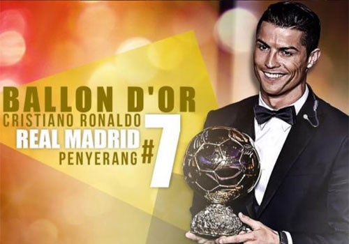 'Cristiano Ronaldo se gianh Qua bong vang 2016' hinh anh