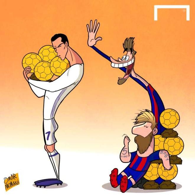 Cristiano Ronaldo khoe anh gianh Qua bong vang 2016 hinh anh 6