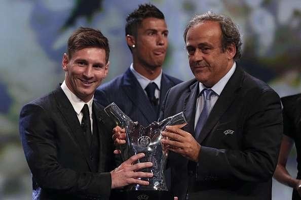 Khoanh khac kho quen cua Ronaldo va Messi anh 10