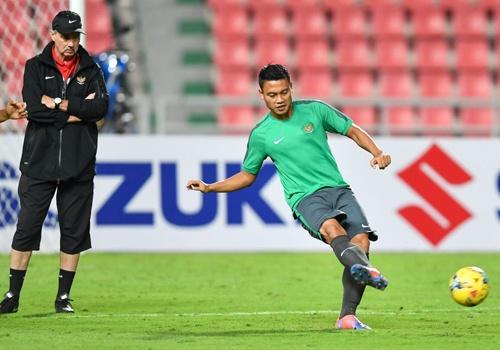 Indonesia luyen da phat dau Thai Lan o chung ket AFF Cup hinh anh