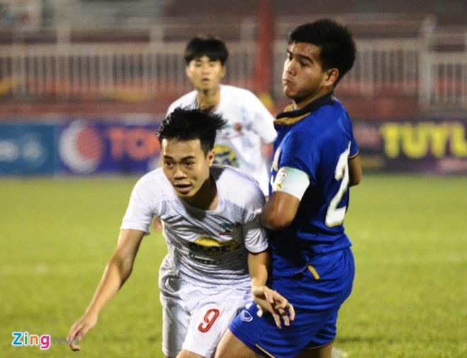 Thang HAGL 1-0, U21 Thai Lan doat ve vao ban ket hinh anh 17