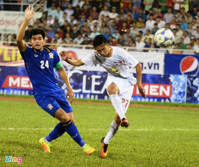 Thang HAGL 1-0, U21 Thai Lan doat ve vao ban ket hinh anh 18