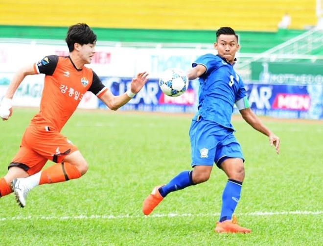 Thang HAGL 1-0, U21 Thai Lan doat ve vao ban ket hinh anh 7