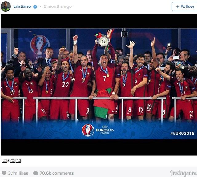 Ronaldo - vua mang xa hoi 2016 hinh anh 7