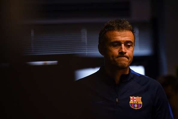 Luis Enrique co the chia tay Barca cuoi mua nay hinh anh 1