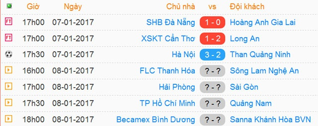 Tran Da Nang vs HAGL anh 1