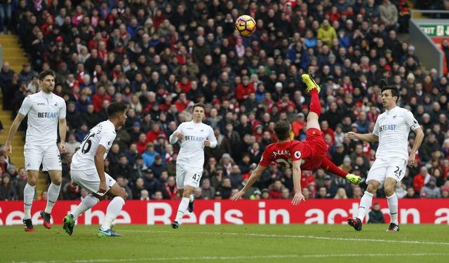 Tran Liverpool vs Swansea anh 12