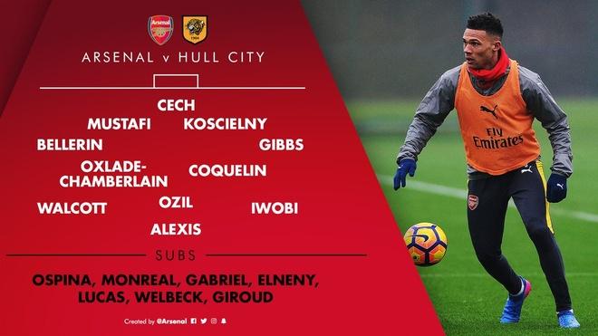 Arsenal vs Hull City (2-0): Sanchez ghi ban bang tay hinh anh 7