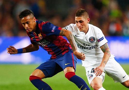 PSG so nhat Neymar o Champions League hinh anh