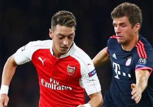Cau thu Bayern thach Arsenal choi tan cong hinh anh