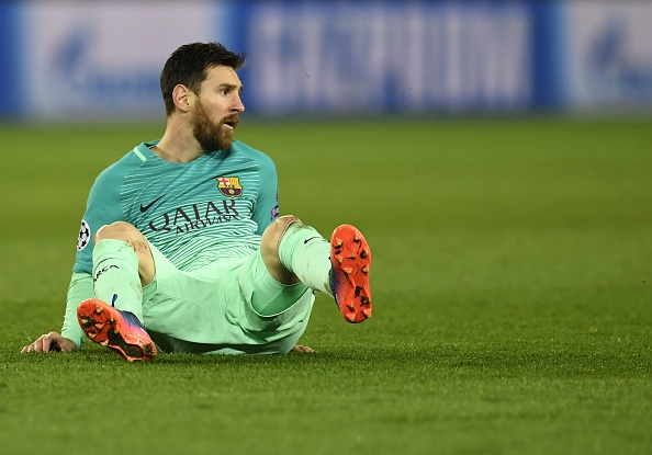 Messi gay that vong nhu the nao truoc PSG? hinh anh 1