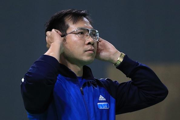 Xuan Vinh bat ngo bi loai o noi dung 50 m sung ngan hinh anh 1