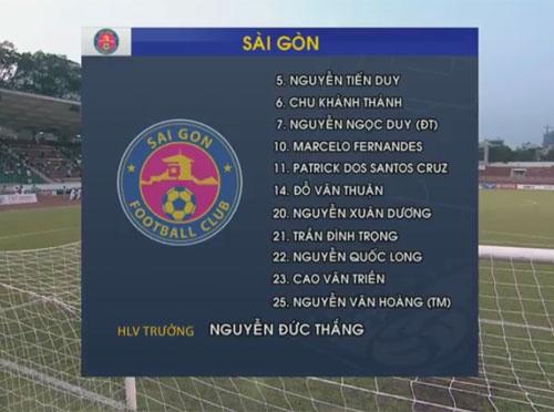 Tuong thuat CLB Sai Gon vs CLB Ha Noi anh 12