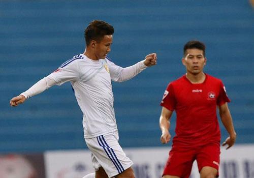 CLB Hai Phong thang 2-0 trong tran san Lach Tray khong co khan gia hinh anh