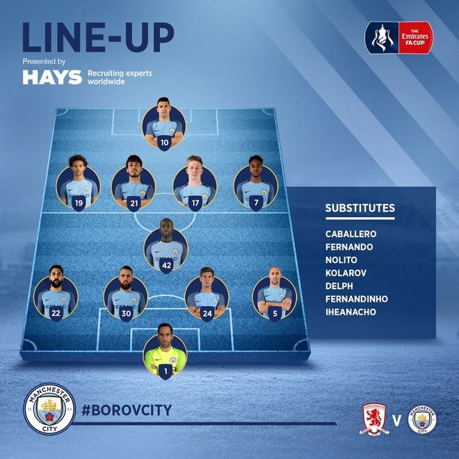Aguero va David Silva dua Man City vao ban ket cup FA hinh anh 6