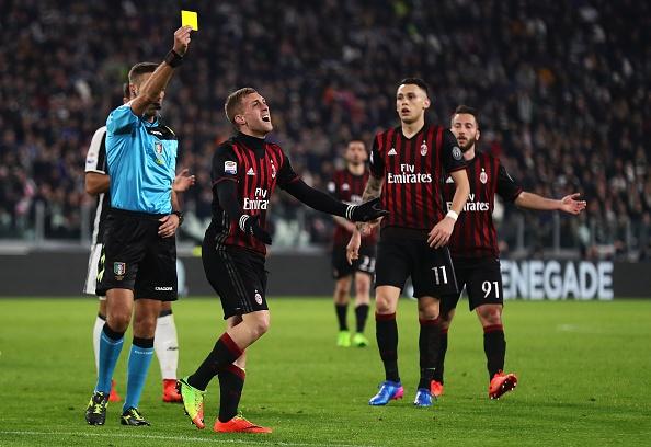 Cau thu Milan pha phong thay do Juventus anh 1