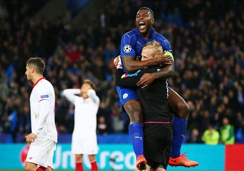 Morgan cua Leicester di vao lich su Champions League hinh anh