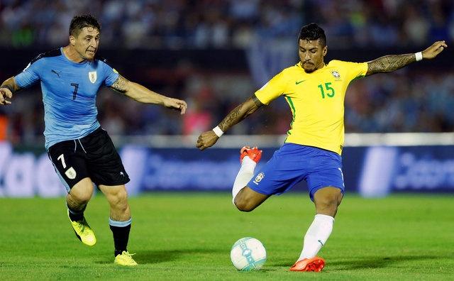Tran Uruguay vs Brazil anh 10