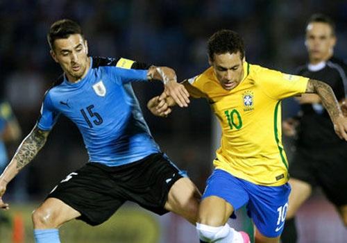 Uruguay 1-4 Brazil: Neymar lop bong ghi ban, Paulinho lap hat-trick hinh anh