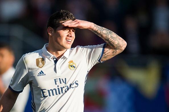 7 doi bong muon giai cuu James Rodriguez khoi Real hinh anh 1