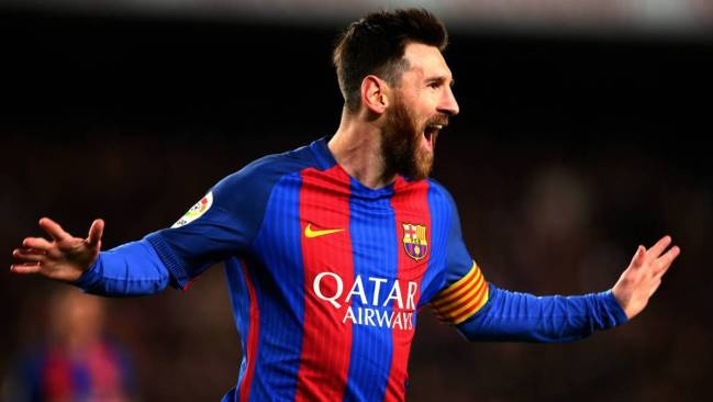 Barca ky hop dong moi voi Messi anh 1