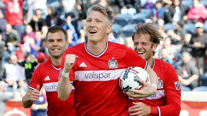 Schweinsteiger lan dau vao doi hinh tieu bieu MLS hinh anh 1