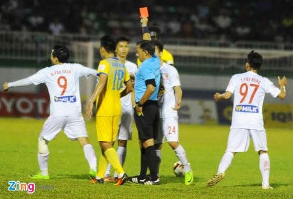 CLB HAGL thua 2-3 truoc CLB Thanh Hoa anh 1